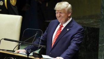 Trump speaks at UN