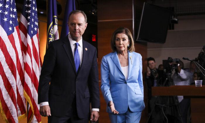 Schiff pelosi traitors
