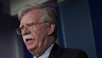 John Bolton speaks at press briefing 700x420
