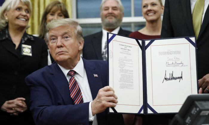 trump protects animals