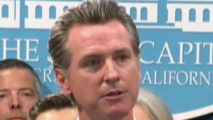 CA Homeless no action governor
