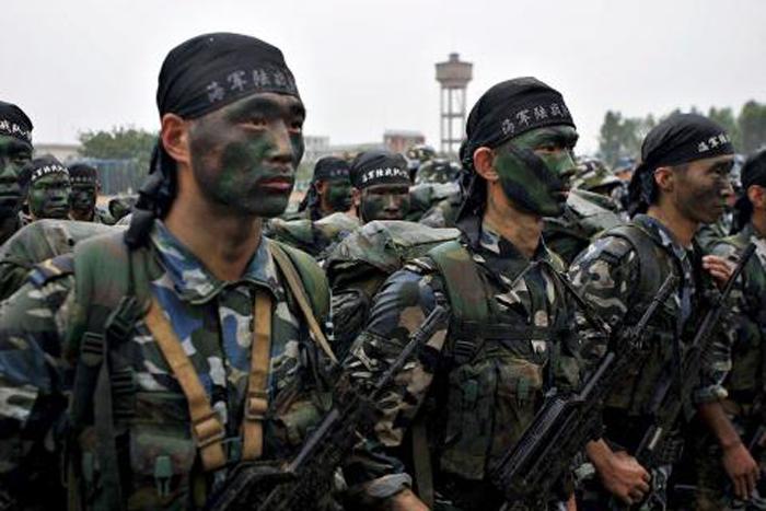 china marines PLA 2
