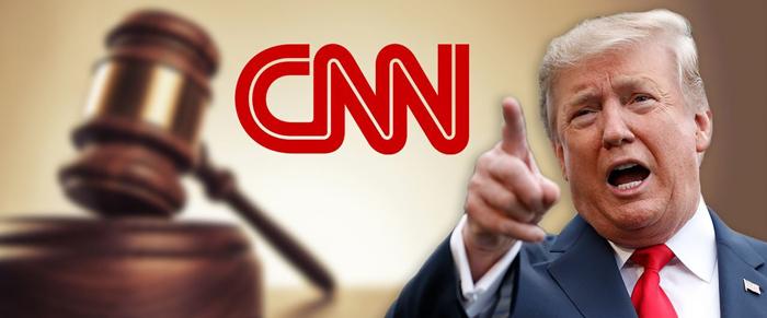 trump sues cnn