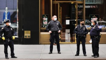 NYPD officers say coronavirus social distancing policing needs to end
