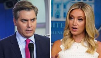 CNN's Jim Acosta blasted for taking Kayleigh McEnany out of context in viral tweet