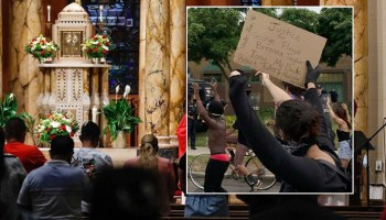 Coronavirus double standard -- liberal media declare protests more sacred than church