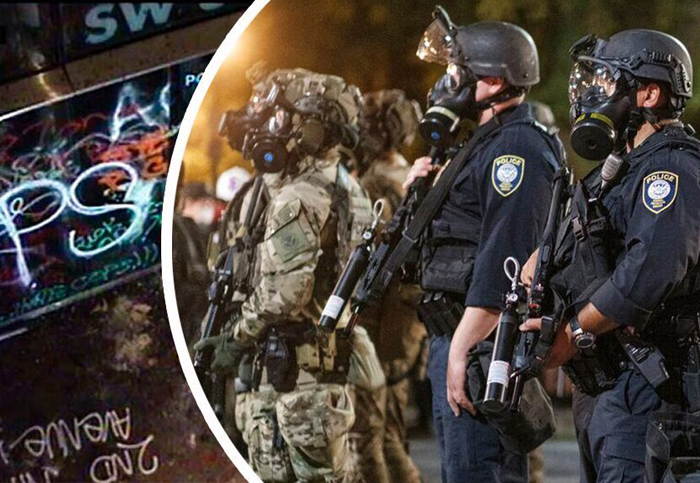 Portland's unrest continues for six straight weeks with no apparent end in sight