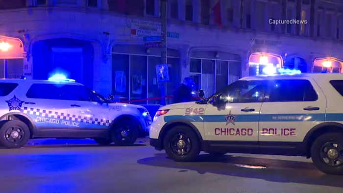 Chicago shootings leave at least 5 dead; 2 city cops among the wounded