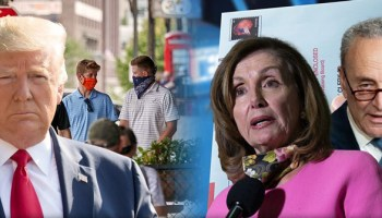 Trump says Democrats' mail-in ballot push holding up coronavirus stimulus package