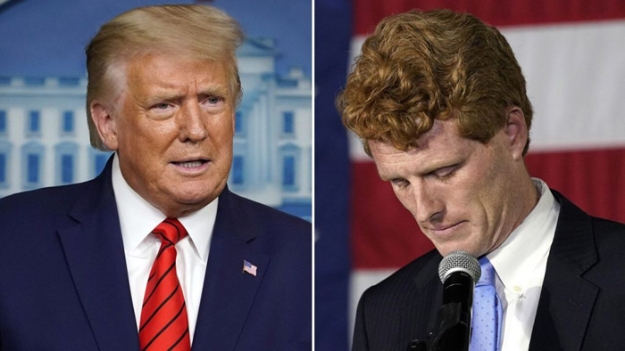 Trump says Kennedy loss in Senate primary sign of 'Radical Left' control of Democrats and Biden