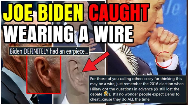 Biden Caught Wearing Wire for Debate