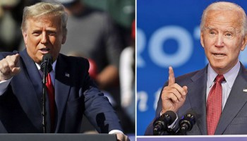 Trump, Biden set for dueling rallies, as U.S. economy roars back from lockdowns, shattering GDP records