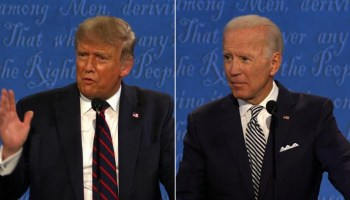 Trump pushes back against changes to future debates as team Biden requests 'mute button'