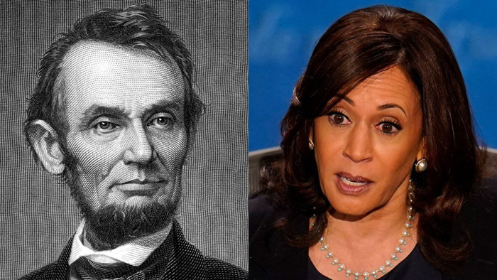 Washington Post slams Harris for botching 'little' lesson about Honest Abe