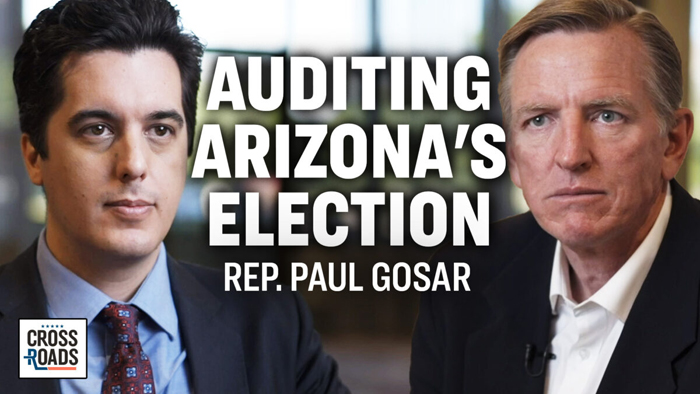Representative Gosar - Auditing Arizona's Election, Media Disinformation May Have Violated Law