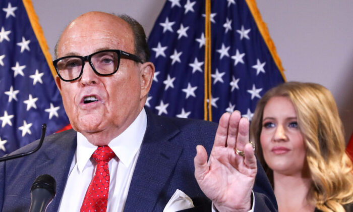 Giuliani: Election-Related Cases Going to 'Blow Up' After Christmas