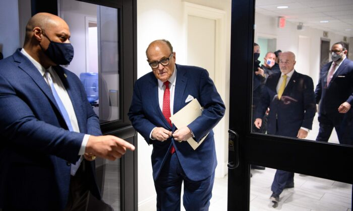 Michigan House Speaker: Rudy Giuliani to Testify to Michigan State House