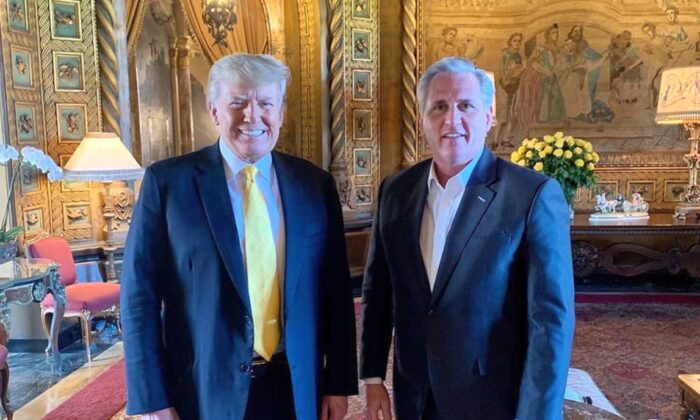 Trump Team Touts 'Good and Cordial' Meeting With Rep. McCarthy