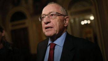 Dershowitz: Maxine Waters' Tactics Similar to Those Used by Ku Klux Klan
