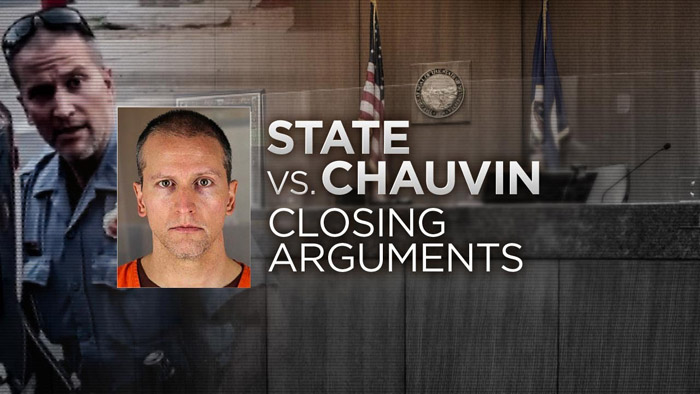 In Closing Arguments, Prosecutor Says Chauvin Killed Floyd, Defense Says 'Reasonable Doubt' Exists