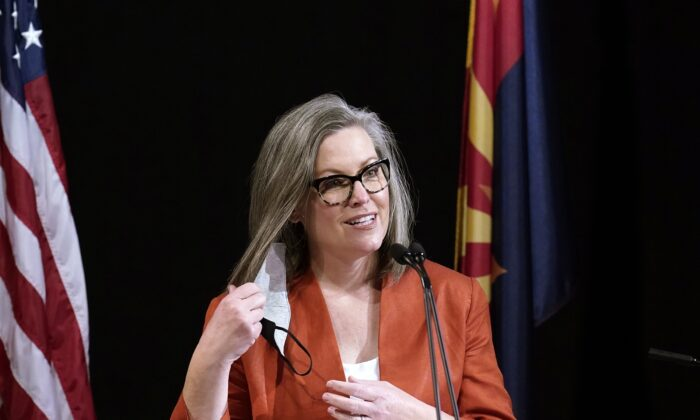 Arizona Republican Lawmakers Vote to Strip Power From Secretary of State Katie Hobbs