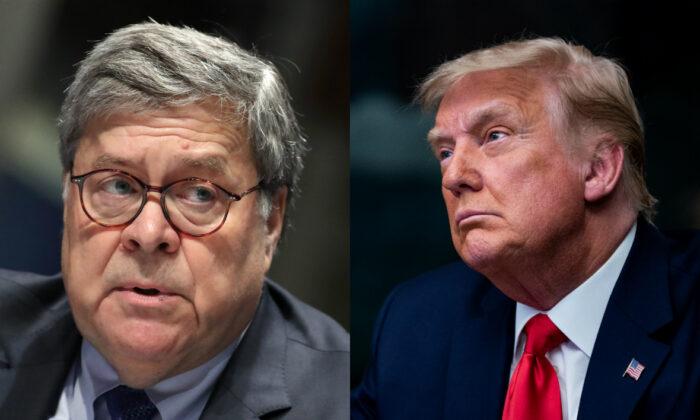Trump Responds to Former AG William Barr's Claims About 2020 Election