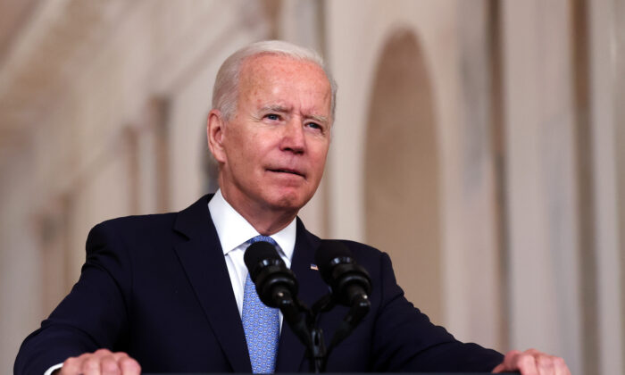 Biden Blames COVID-19 Delta Variant for Far Lower Jobs Numbers