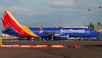Hundreds of Southwest Workers Protest COVID-19 Vaccination Mandates at Airline's Headquarters