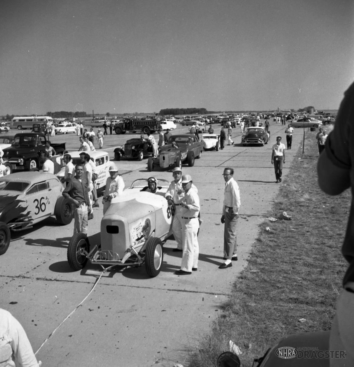 1955 NHRA Nationals—Great Bend, Kansas - slide 1