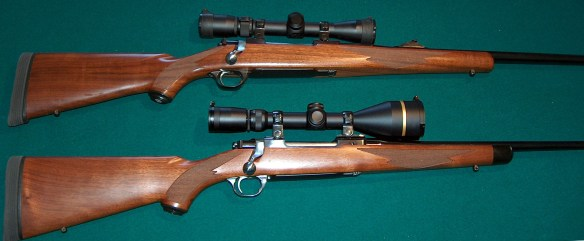 ruger 270 and 338