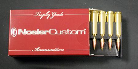 nosler custom .243 Winchester