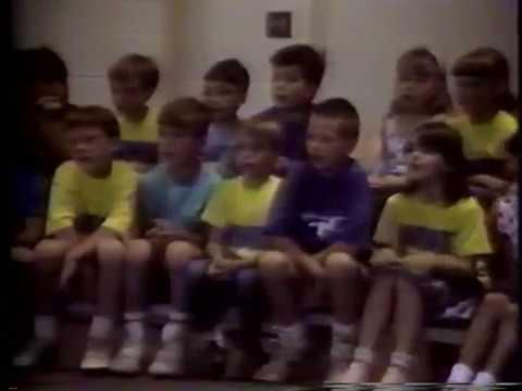 Monroe Elementary 1st grade program from 1988