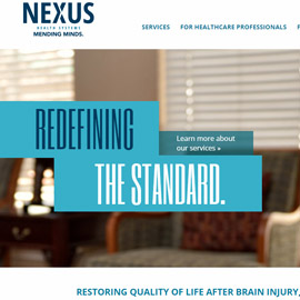 Nexus Health Systems Rebrands to Highlight Legacy of Mending Minds