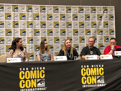 Megan Motis Advocates for Patients at Comic-Con 2018