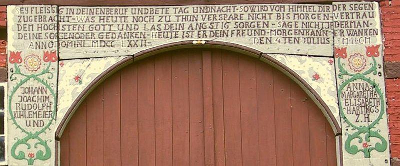 Herrentrup Nr. 1 KuhlmeyerFoto Herbert Penke