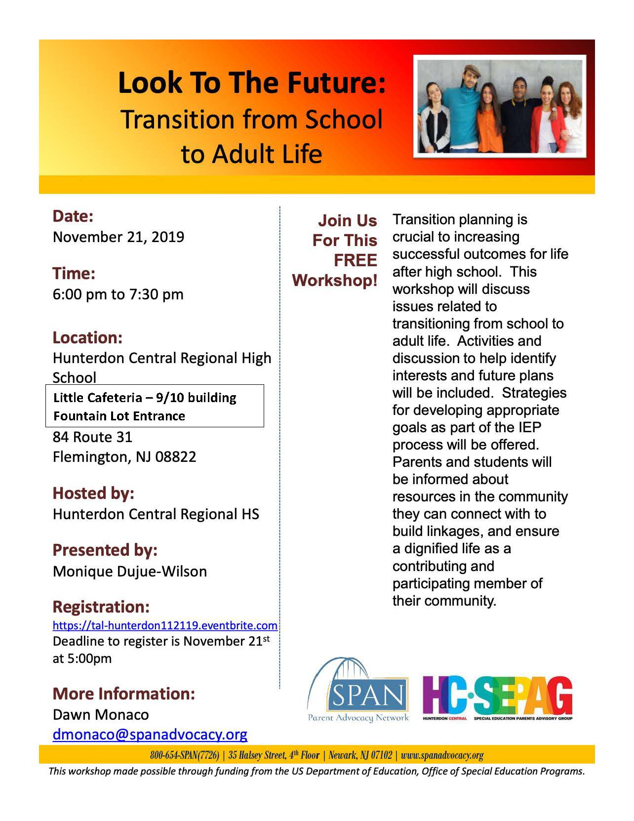 Transition From School To Adult Life Presentation