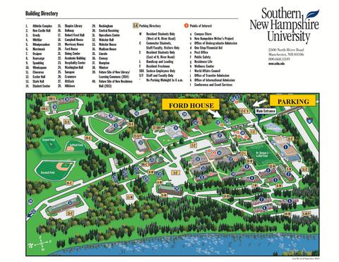 snhu campus map pdf Snhu Manchester Campus Map Map Of The World snhu campus map pdf
