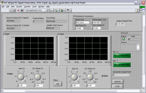 Modulation Toolkit NIFGEN IQ Signal Generation  National Instruments