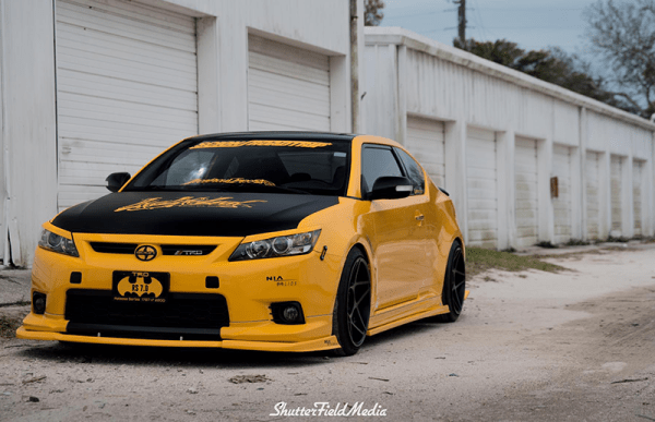 Scion tc RS.7 nia front splitter