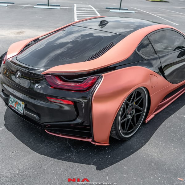 Bmw I8 Nia Rear Lip Spats 2014 18 Nia Auto Design Quality