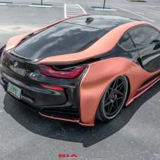 bmw i8 rear lip kit rear spat lip rear body kit