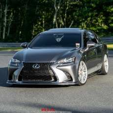 Lexus GS350 Ground effects.