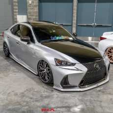 Lexus IS turbo front bumper extension lip