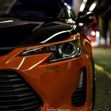 scion tc eyebrows eyelids color matched