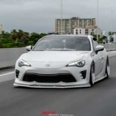 Toyota 86 NIA Full Splitter lip body kit (Front, sides, rears)
