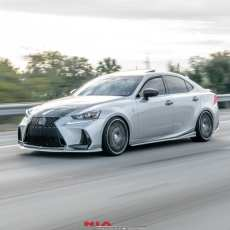 Lexus IS300 Side skirt extensions splitter body lip kit