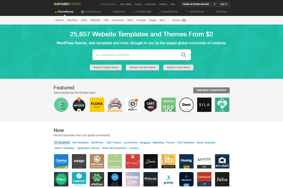 Website Templates WordPress Themes from ThemeForest