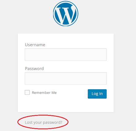 error login wp admin wordpress
