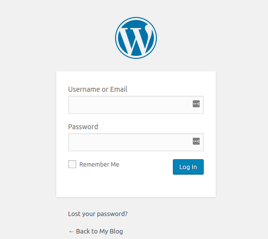 Cara Masuk ke Dashboard WordPress