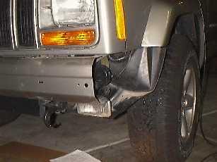 Remove bumper endcaps.